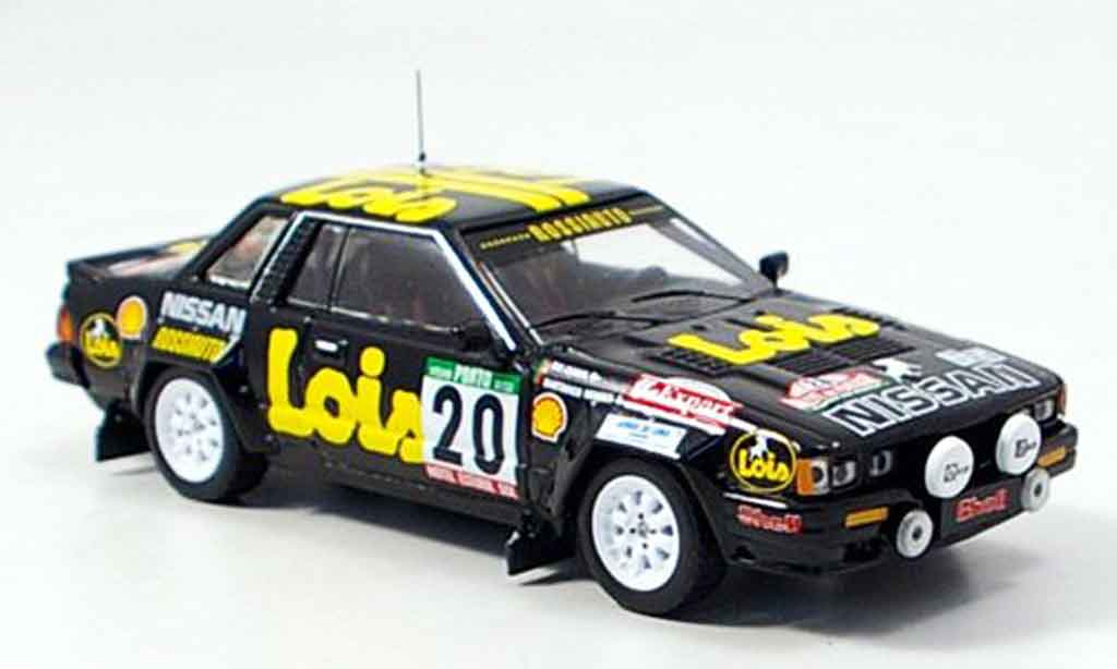 Nissan 240 RS 1/43 IXO No.2 Rally Portugal 1985 miniature
