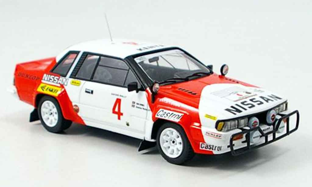 Nissan 240 RS 1/43 Bizarre No.4 Combes Safari Rally 1985 miniature
