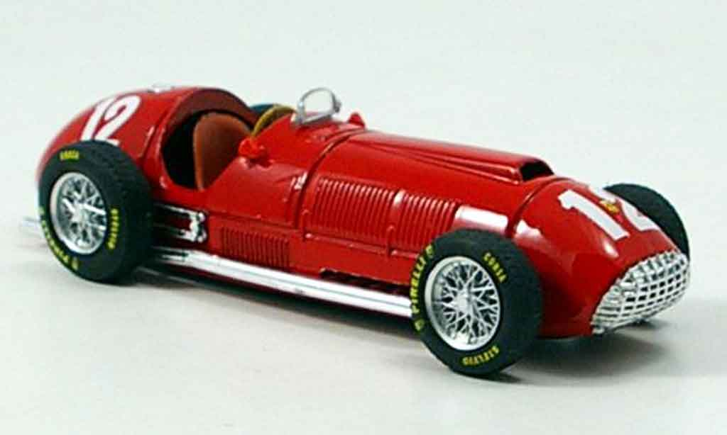 Ferrari 375 1/43 Brumm no.12 f.gonzalez gp england 1951