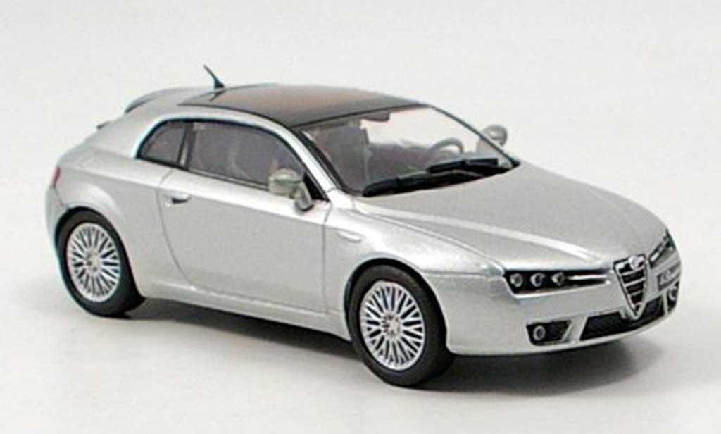 Alfa Romeo Brera 1/43 M4 grise 2005 miniature