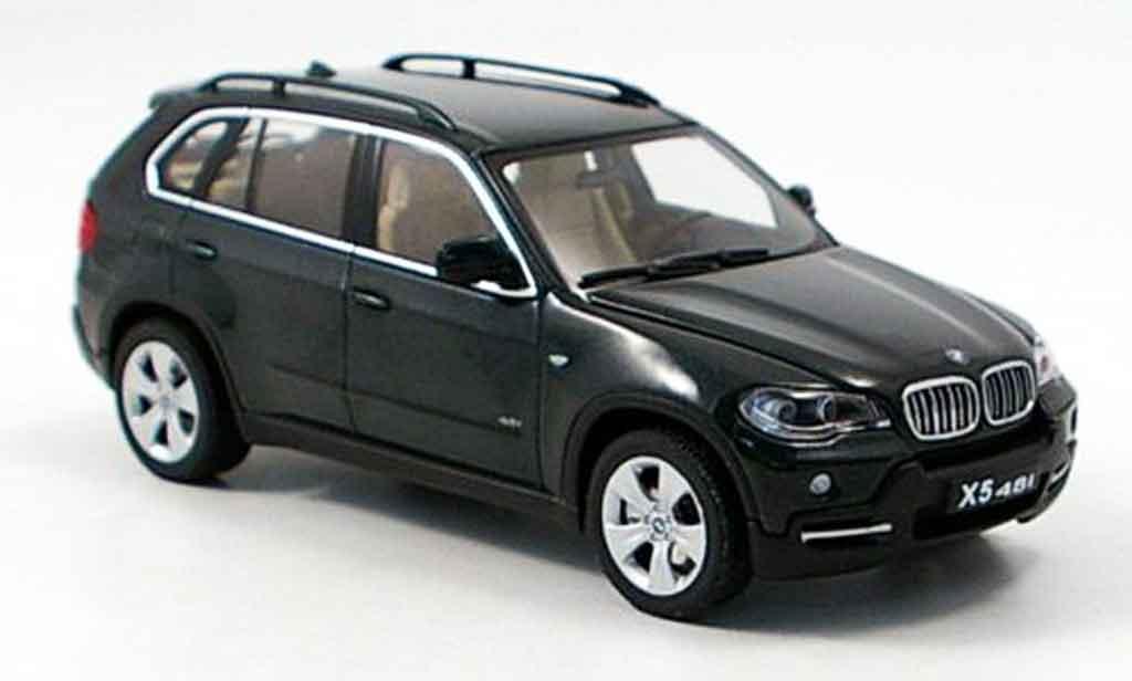 Bmw X5 E70 1/43 Autoart 4.8i verte miniature