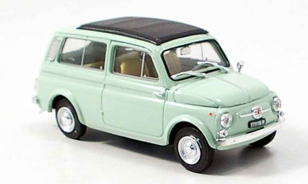 fiat 500 miniature giardiniera verte 1960 brumm 1 43 voiture. Black Bedroom Furniture Sets. Home Design Ideas
