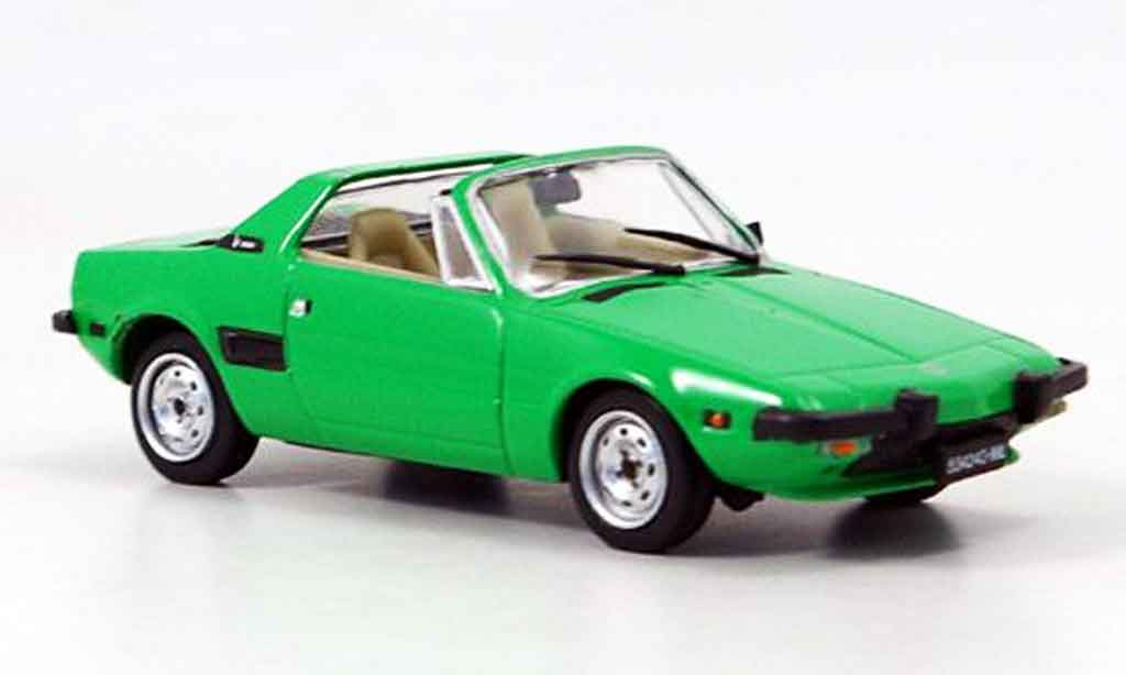Fiat X 1/9 1/43 Edison grun 1972 miniature