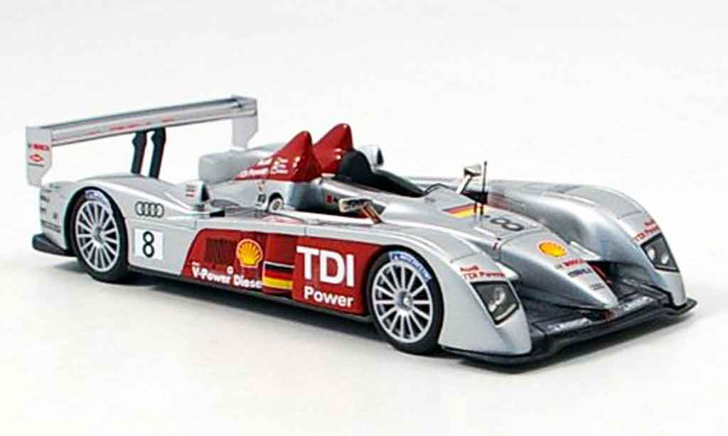 audi r10 2006 miniature sieger 24h le mans 2006 look smart 1 43 voiture. Black Bedroom Furniture Sets. Home Design Ideas