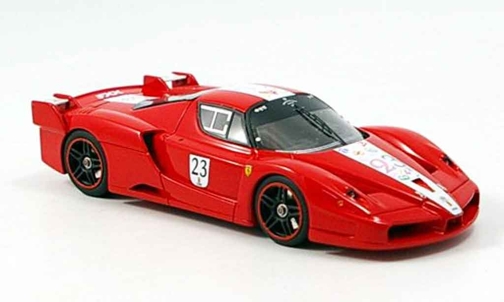 Ferrari Enzo FXX 1/43 Look Smart rouge no.23 frank muller miniature