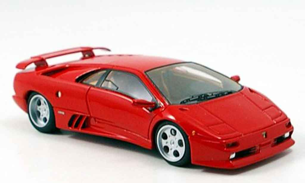 Lamborghini Diablo 1/43 Look Smart se30 rouge 1994 miniature