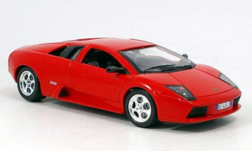 Lamborghini Murcielago red Burago. Lamborghini Murcielago red miniature 1/18