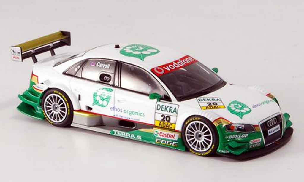 Audi A4 DTM 1/43 Minichamps Ethos Racing Carroll 2007 miniature