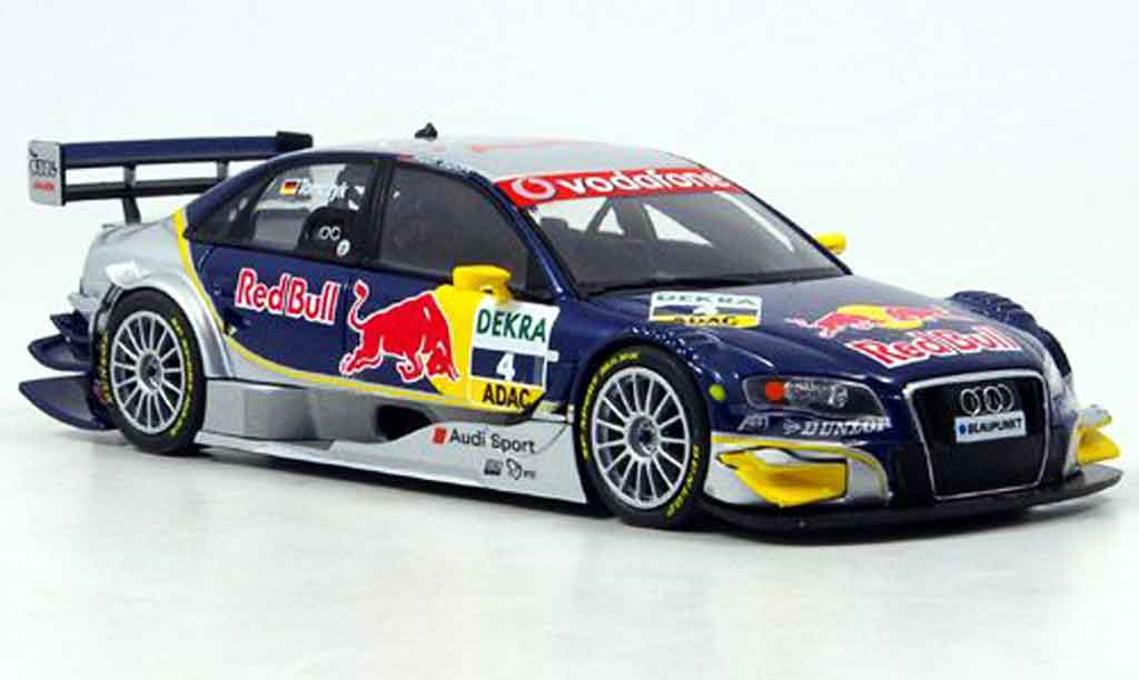 Audi A4 DTM 1/43 Minichamps Red Bull Tomczyk 2007 diecast model cars