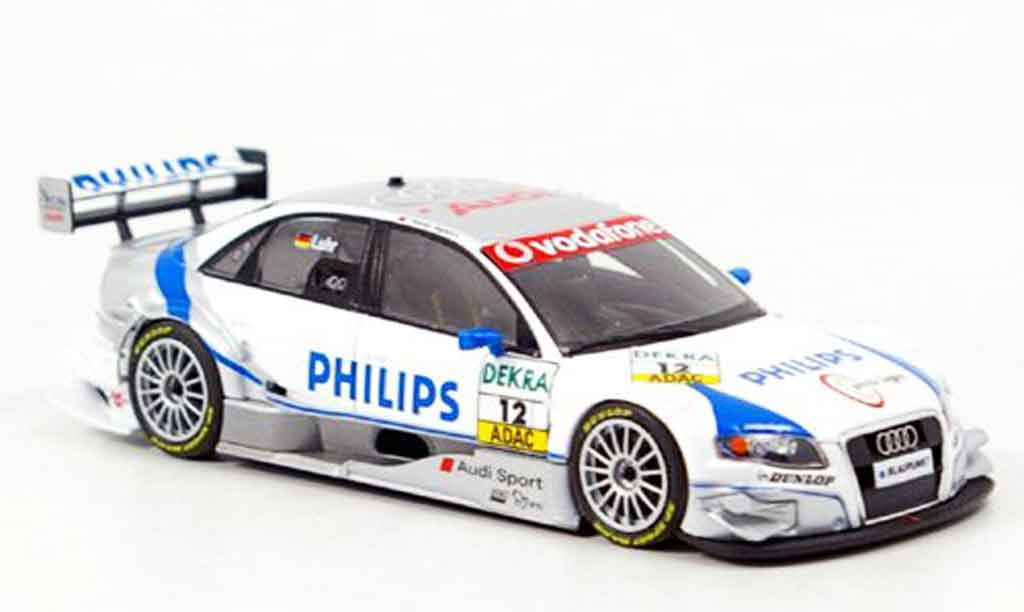 Audi A4 DTM 1/43 Minichamps Philips Luhr 2007 diecast model cars