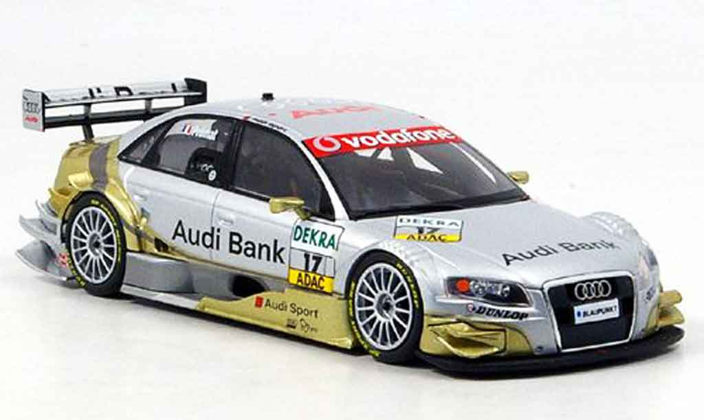 Audi A4 DTM 1/43 Minichamps Bank Premat 2007 diecast model cars