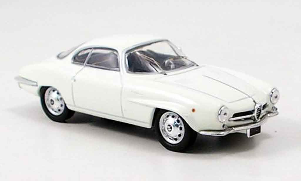 Alfa Romeo Giulietta Sprint 1/43 M4 speciale blanche 1959 miniature