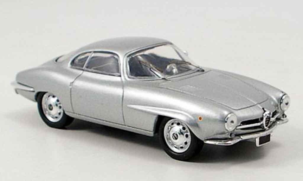 Alfa Romeo Giulietta Sprint 1/43 M4 speciale grise metallisee 1959 miniature