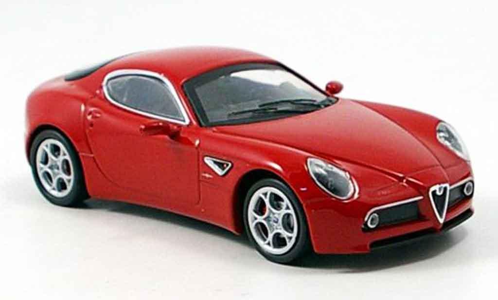 Alfa Romeo 8C Competizione 1/43 M4 red 2007