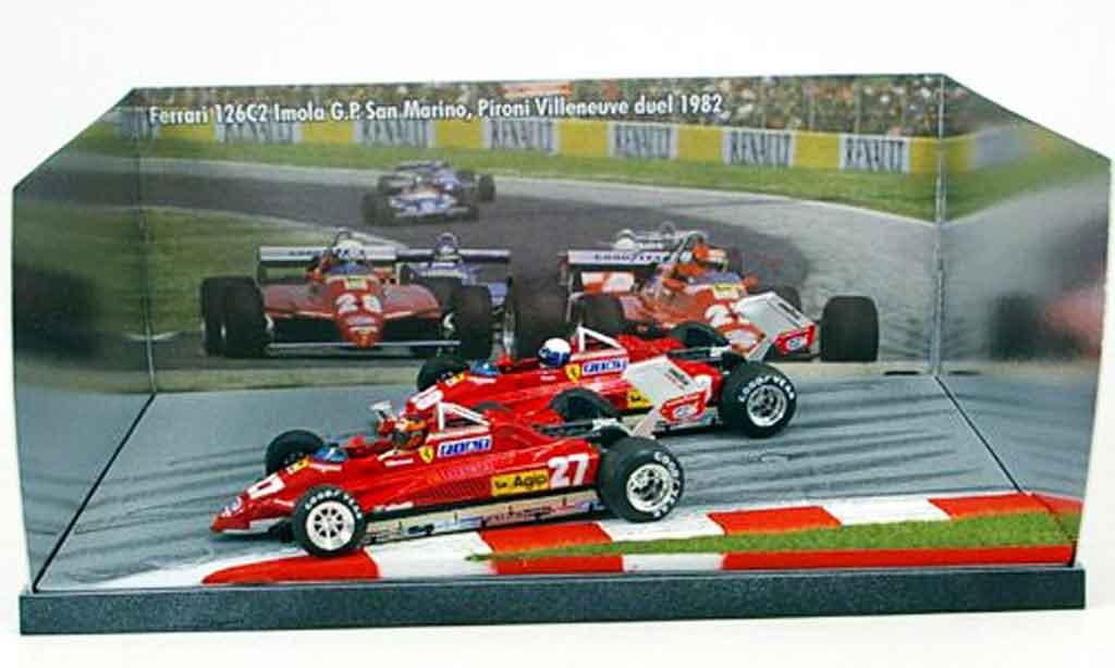 Ferrari 126 1981 1/43 Brumm CK turbo villeneuve pironi duell miniatura
