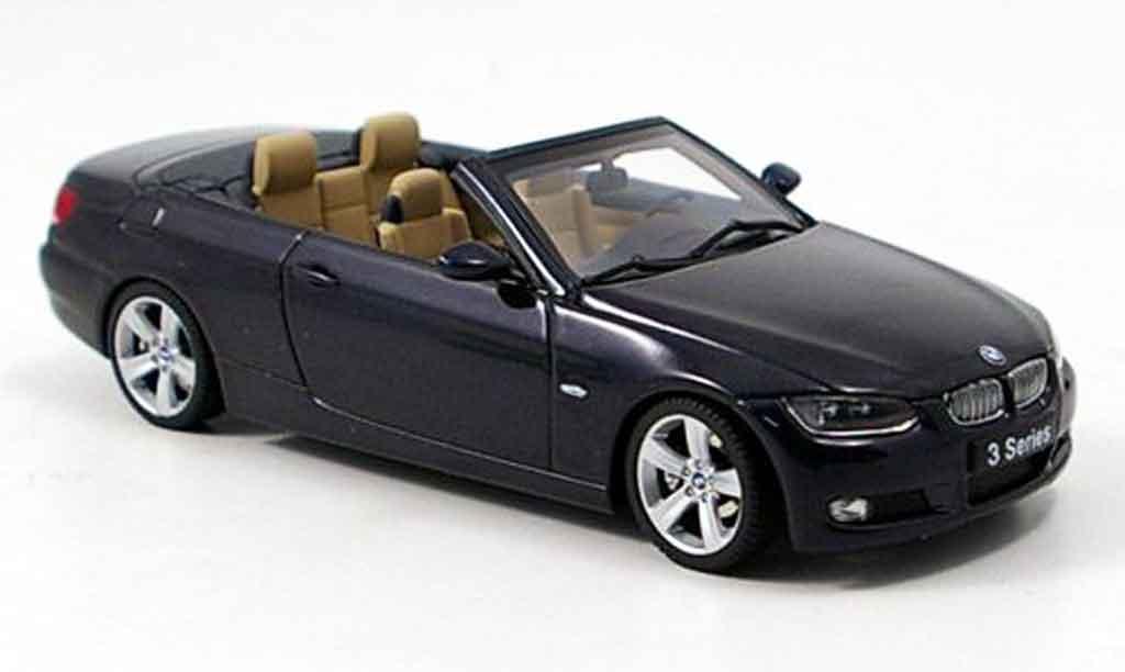 Bmw 335 E93 1/43 Autoart Cabriolet (E93) noire miniature