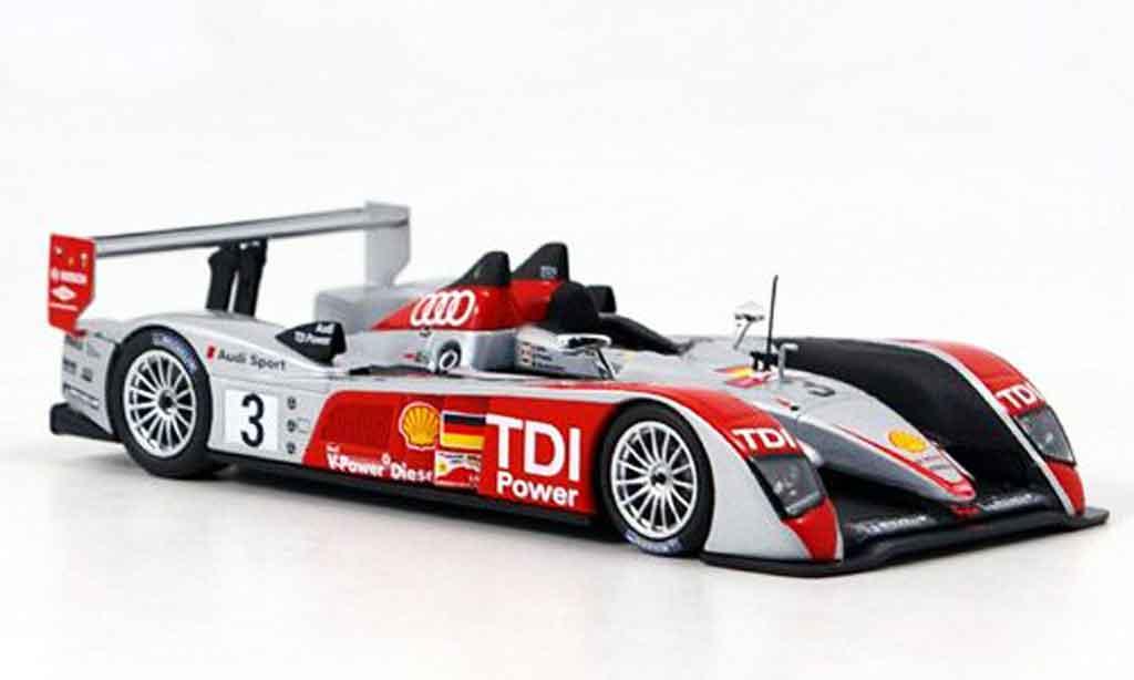 Audi R10 2007 1/43 Minichamps Sport Le Mans miniature