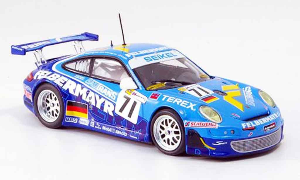 Porsche 997 GT3 RSR 1/43 Minichamps 2007 Seikel Motorsport Le Mans miniature