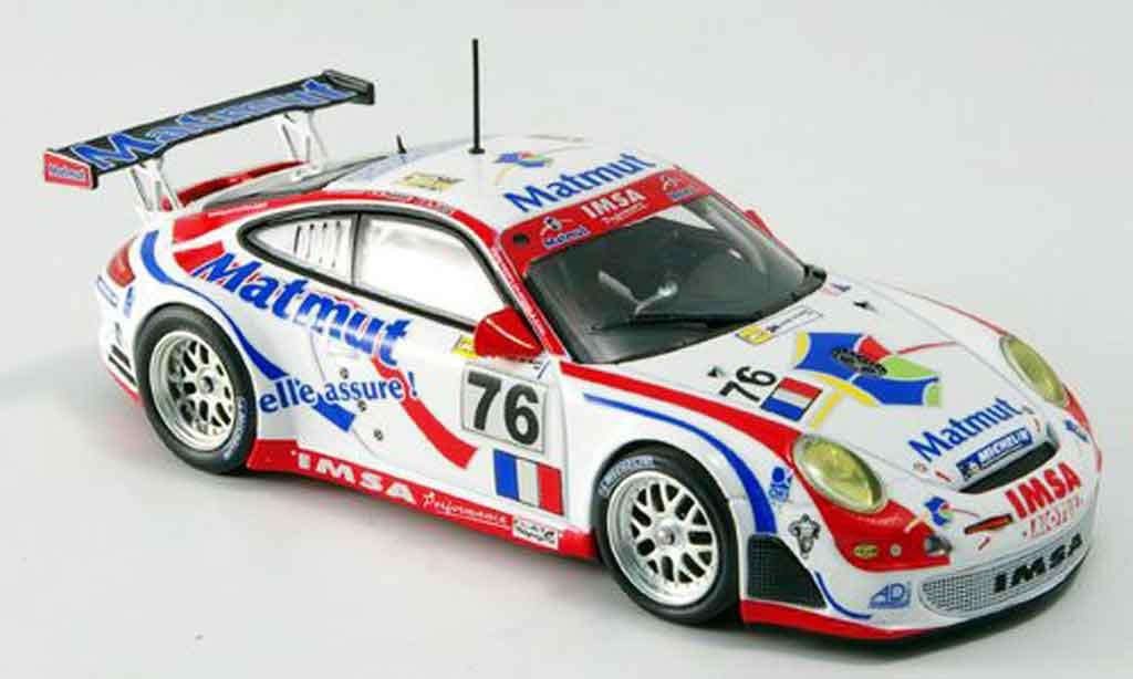 Porsche 997 GT3 RSR 1/43 Minichamps 2007 IMSA Le Mans diecast model cars