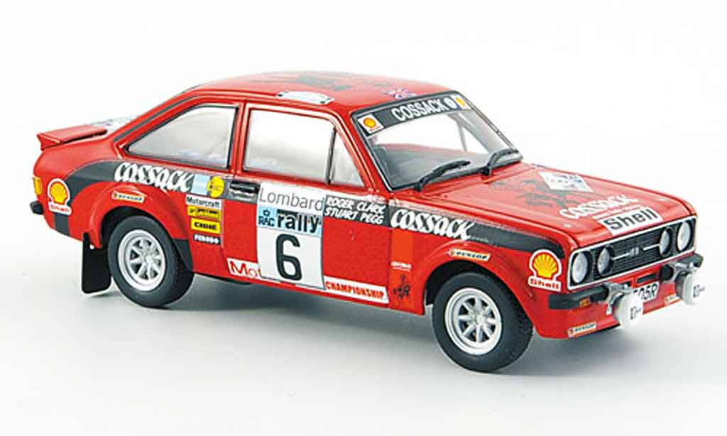 Ford Escort RS 1800 1/43 Minichamps RS 1800 No.6 Sieger RAC Rally 1976 MK2 miniature