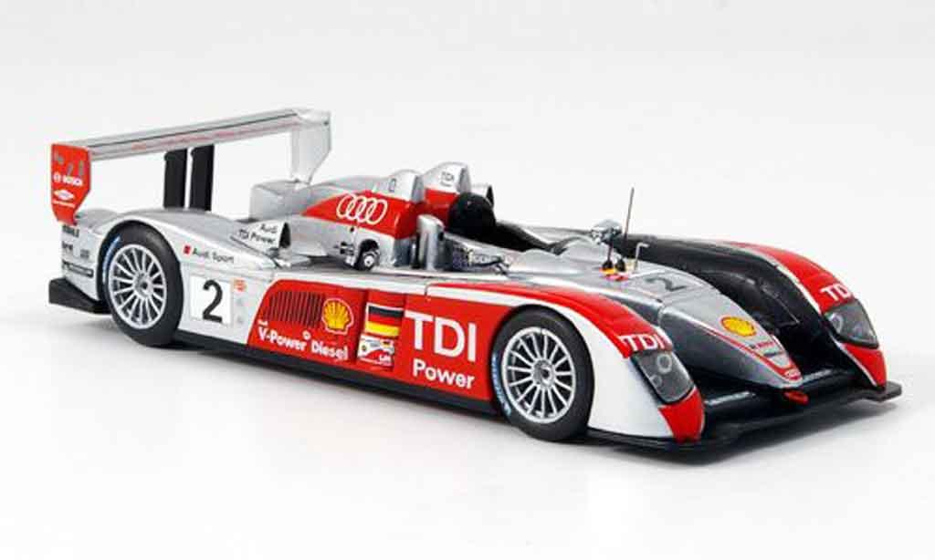 Audi R10 2007 1/43 IXO No.2 Le Mans miniature