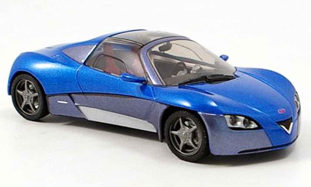 Venturi Fetish 1/43 Norev bleu grise concept miniature