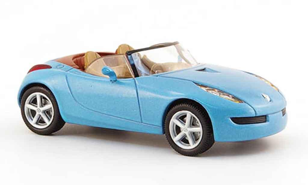 Renault Wind 1/43 Norev bleu concept miniature