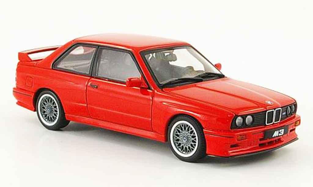 Bmw M3 E30 1/43 Autoart Sport Evolution rouge 1990 miniature