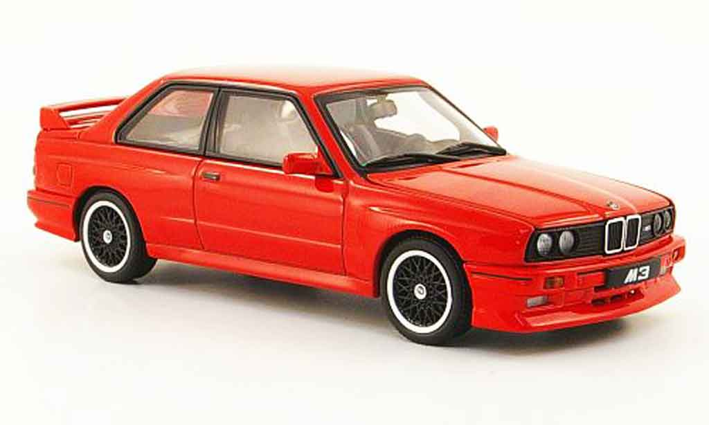 Bmw M3 E30 1/43 Autoart Evolution Cecotto Edition rouge 1989 miniature