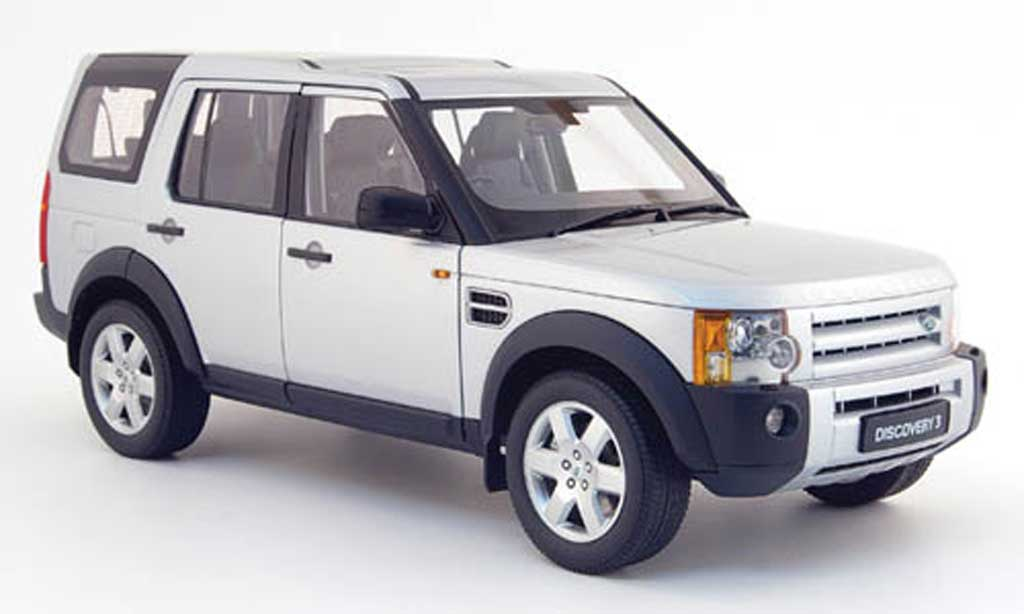 Land Rover Discovery 1/18 Autoart 3 grise 2005 miniature