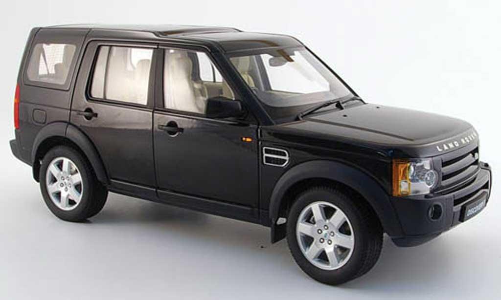 Land Rover Discovery 1/18 Autoart 3 noire 2005 miniature