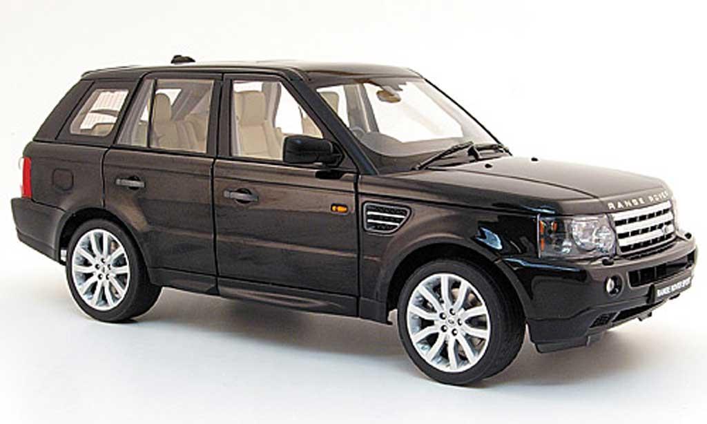 range rover sport schwarz 2006 autoart modellauto 1 18 kaufen verkauf modellauto online. Black Bedroom Furniture Sets. Home Design Ideas