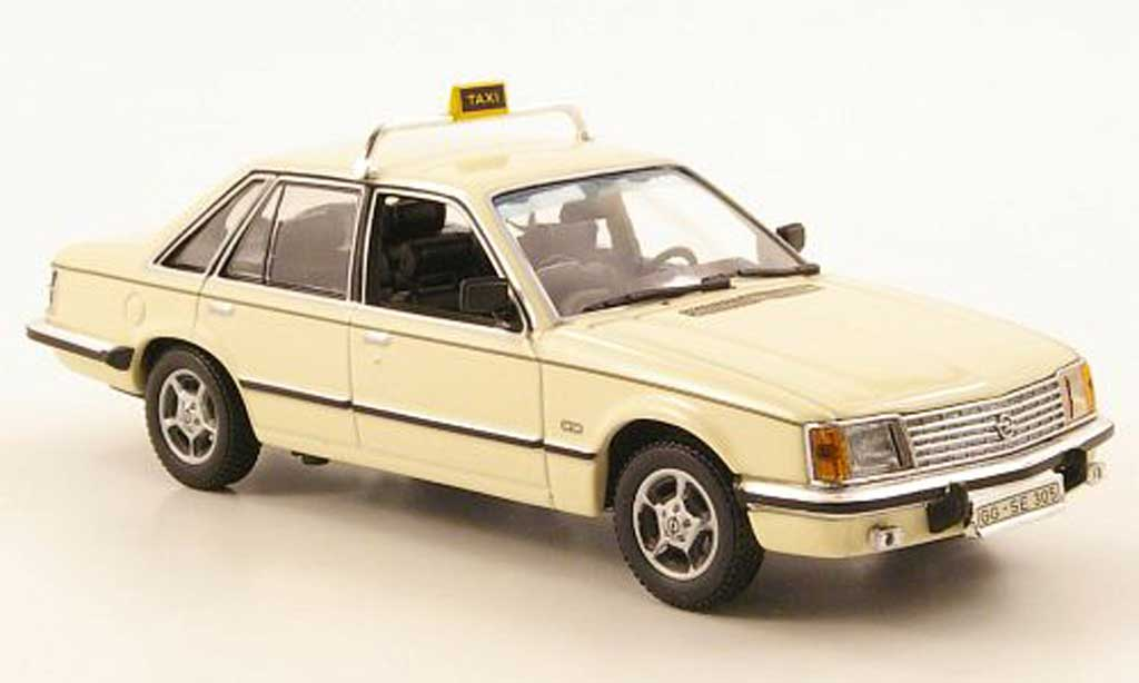 opel senator a taxi 1980 minichamps modellauto 1 43. Black Bedroom Furniture Sets. Home Design Ideas