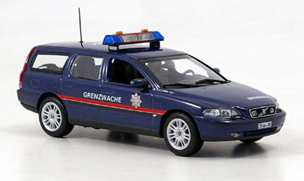 Volvo V70 1/43 Minichamps Grenzwache (CH) 1998 miniature
