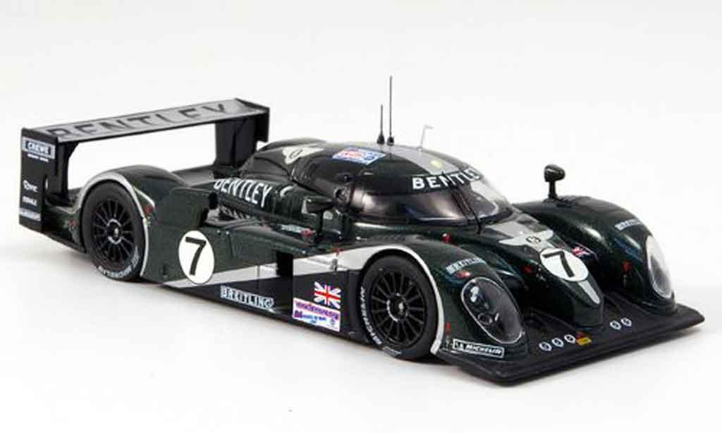 Bentley Speed 8 1/43 IXO No.7 Sieger Le Mans 2003 miniature