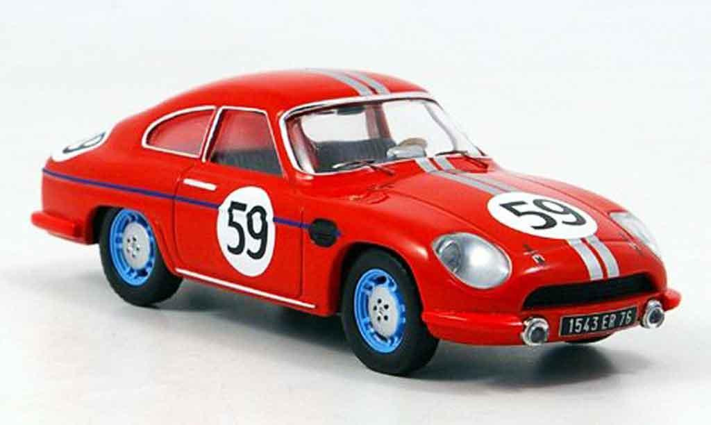Panhard DB HBR 1959 1/43 IXO 4 No.59 Faucher Laffargue Le Mans