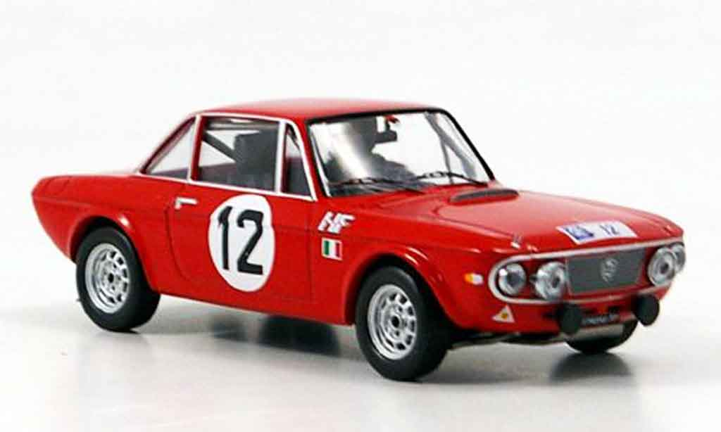 Lancia Fulvia Rallye 1/43 IXO no.12 kallstrom haggbon rac 1969 miniature