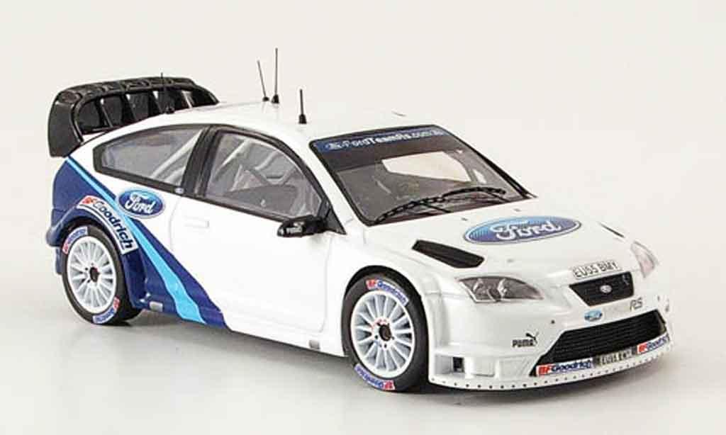 Ford Focus RS WRC 1/43 IXO Gronholm Test Car 2006 miniature