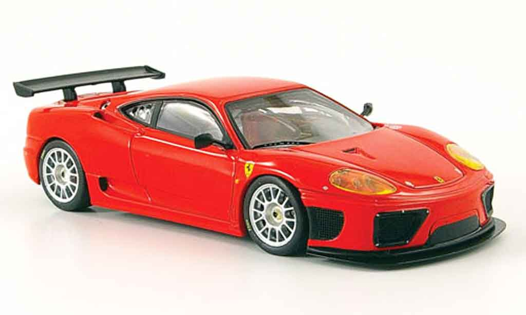 Ferrari 360 Modena 1/43 IXO gtc racing presentation rouge 2001 miniature