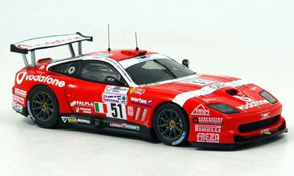 Ferrari 550 Maranello 1/43 IXO no.51 le mans 2005 miniature