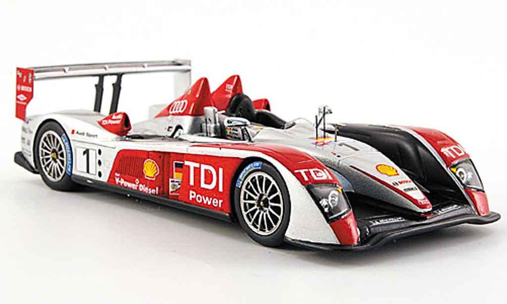 Audi R10 2007 1/43 Spark TDI No.1 Sport 24h Le Mans diecast model cars