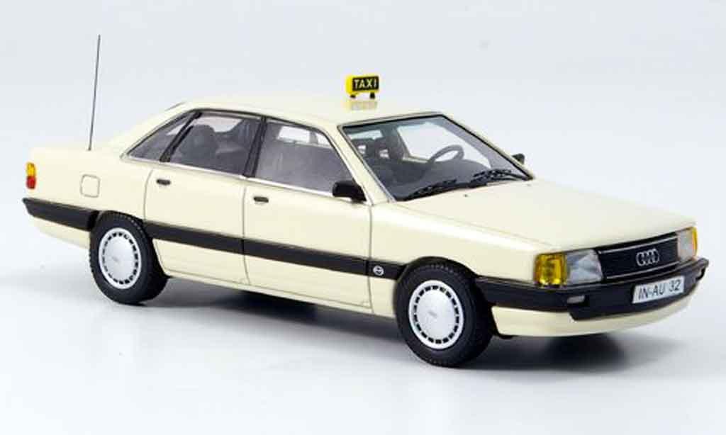 Audi 100 1/43 Neo (Typ44) Taxi Deutschland 1982 miniature