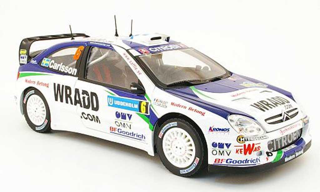 Citroen Xsara WRC 2007 1/18 Sun Star no.6 wradd.com rallye suisse