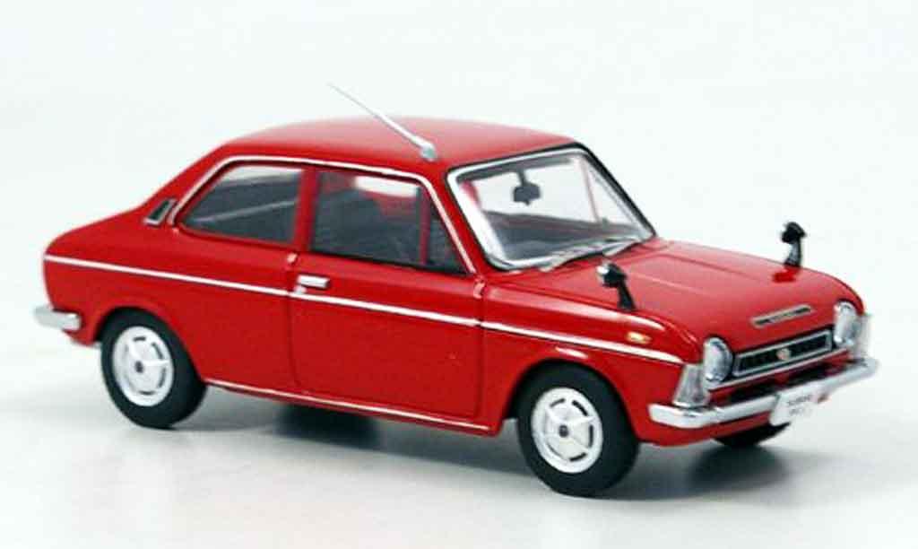 Subaru FF 1/43 Ebbro 1 1100 rouge 1969 miniature