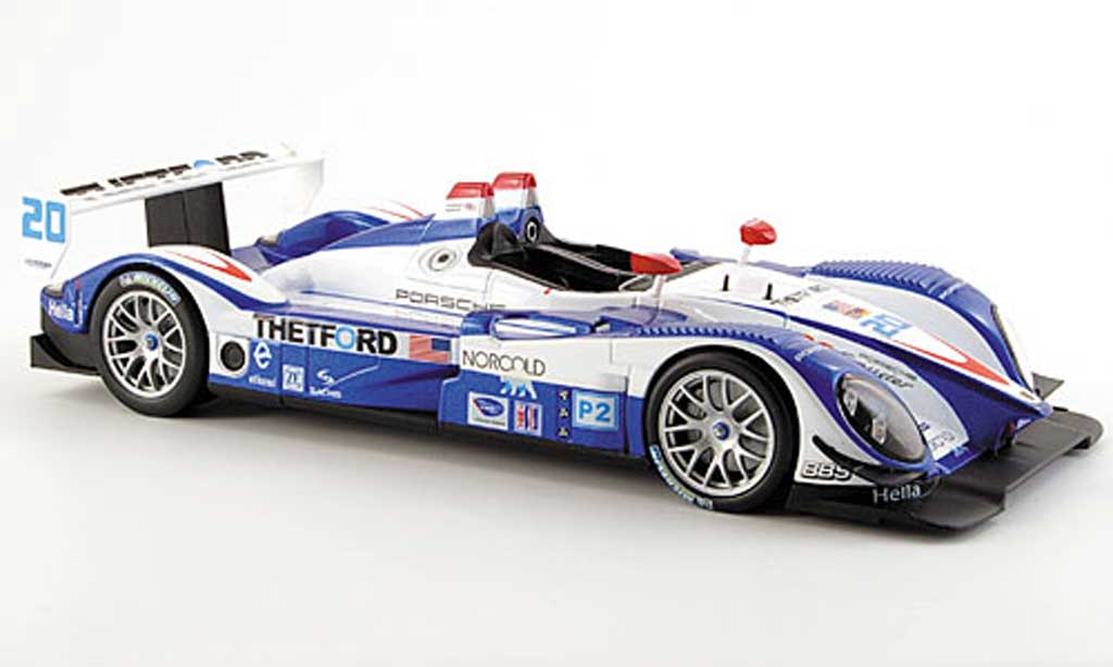 Porsche RS Spyder 1/18 Norev no.20 team dyson 2007 diecast model cars