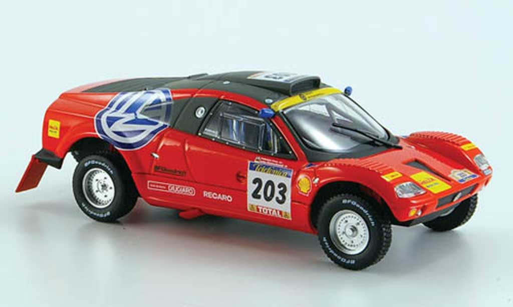 Volkswagen Tarek 1/43 Norev No.203 Rally Dakar 2003 diecast model cars