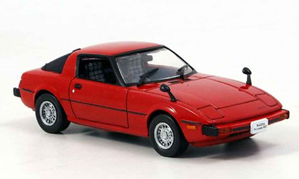 Mazda RX7 1978 1/43 Norev Savanna rouge miniature
