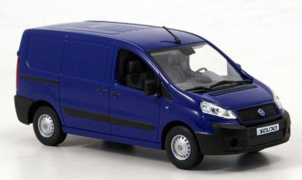 Fiat Scudo 1/43 Norev fourgon bleu 2006 miniature