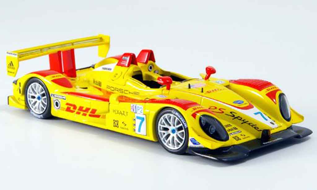 Porsche RS Spyder 1/43 Minichamps Sieger Ohio 2007 diecast model cars