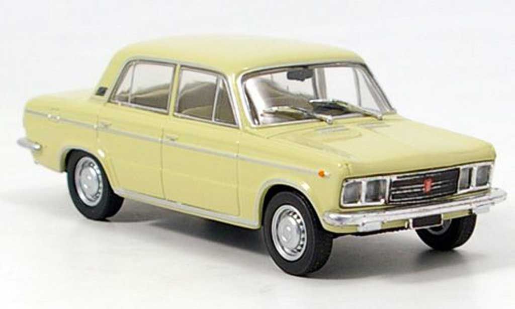 Fiat 125 1/43 Starline Special beige 1968 miniature